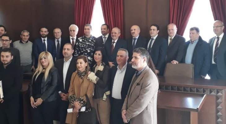 القاضي رعد: للاطلاع على حاجات المحاكم الملحة وسد الثغرات