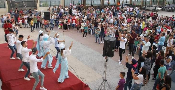 """تجمع """"سنابل شبعا"""" نظم الكرمس الأول لأطفال البلدة بعنوان """"العيد عنا أحلى"""""""