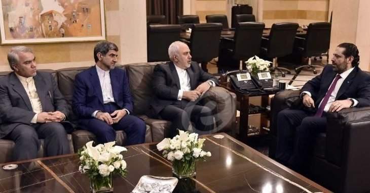 مصادر الحريري للـMTV: رئيس الحكومة رأى أن الإيرانيين أكثر إيجابية من أي وقت مضى بملف زكا