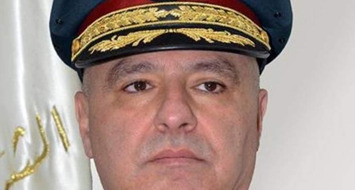 قائد الجيش التقى الشيخ حسن دلّي وتناول البحث شؤوناً مختلفة