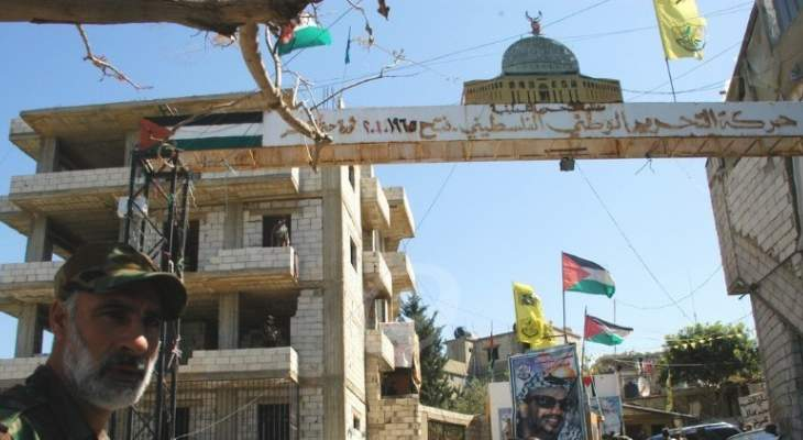 النشرة: هدوء حذر في مخيم المية ومية بعد تجدد الاشتباكات العنيفة ليلاً