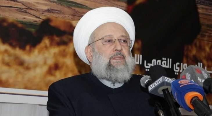 الشيخ حمود: كل المؤامرات ضد فلسطين وسلاح المقاومة ستبوء بالفشل