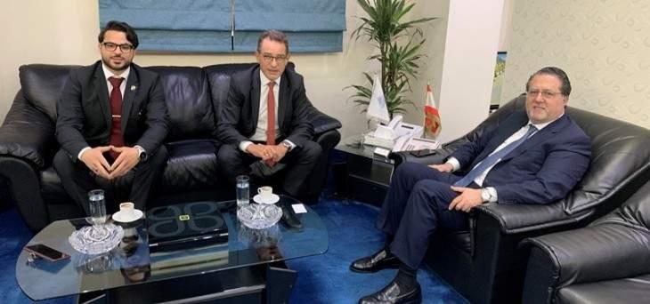 شقير شدد على ضرورة زيادة منسوب التعاون بين لبنان وألمانيا