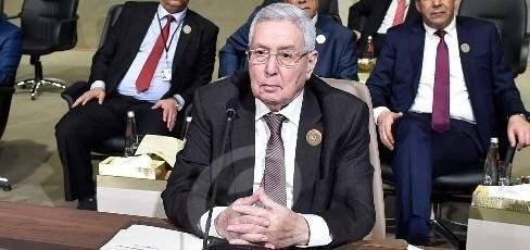 بن صالح: الانتخابات الرئاسية هي السبيل الأوحد لحل الأزمة في الجزائر