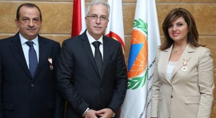 المنظمة الدولية للحماية المدنية كرمت أربعة موظفين في الدفاع المدني