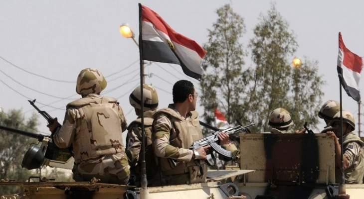 الجيش المصري: مقتل 47 مسلحا و5 عسكريين في سيناء