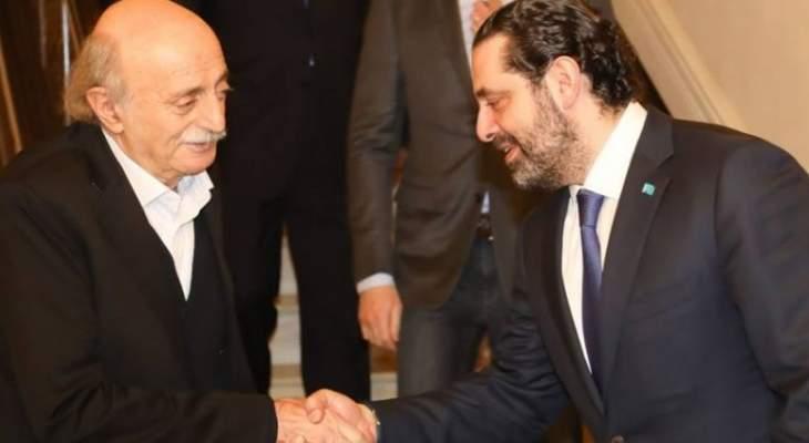 دمشق تقلق الحريري وجنبلاط!