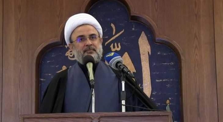 قاووق: لا مشكلة بين حزب الله والوطني الحر في ما يتعلق بالثلث الضامن