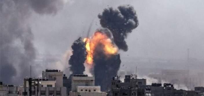 الجيش الإسرائيلي يقصف أهدافا للفصائل الفلسطينية شمال قطاع غزة