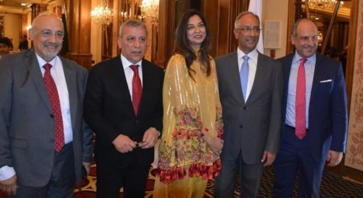 سفير باكستان في لبنان: عمِلت على تمتين أواصر العلاقات بين بلدينا