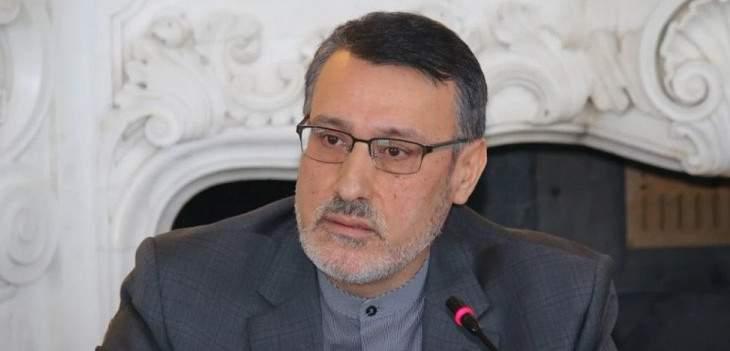سفير إيران بلندن: قرار مجلس الأمن حول اليمن أفشل مخططات أميركا والسعودية الإمارات ضدنا