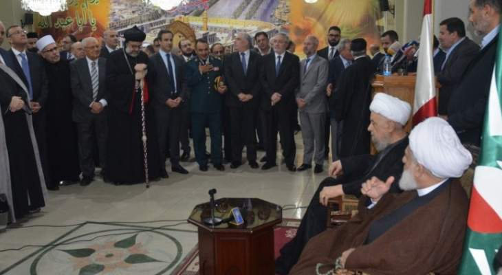 قبلان في لقاء بالمجلس الشيعي: للعمل المخلص والجاد لخدمة الوطن والانسان