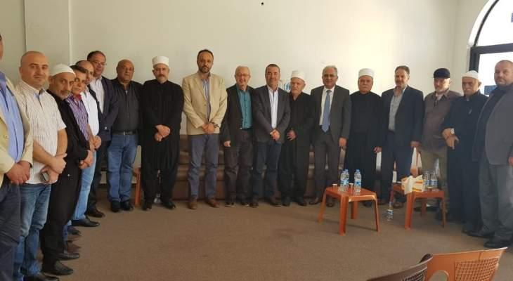 النشرة: المجلس المذهبي الدرزي التقى فعاليات حاصبيا