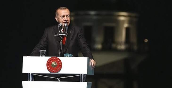 أردوغان: القبلة الأولى للمسلمين تتعرض لارهاب دولة أمام أنظار العالم