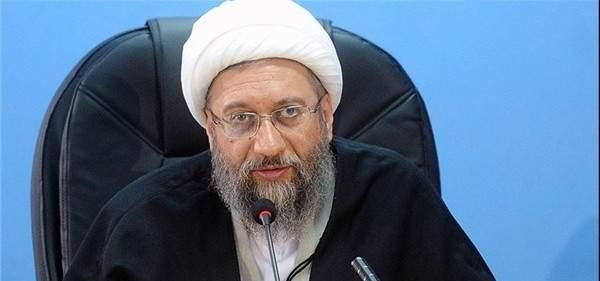 رئيس القضاء الايراني: اميركا وحلفاؤها استخفوا بكل المعايير الدولية بعدوانهم على سوريا