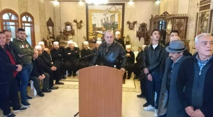 وهاب: نؤكد على تحالفنا مع المقاومة في مواجهة المرحلة المقبلة
