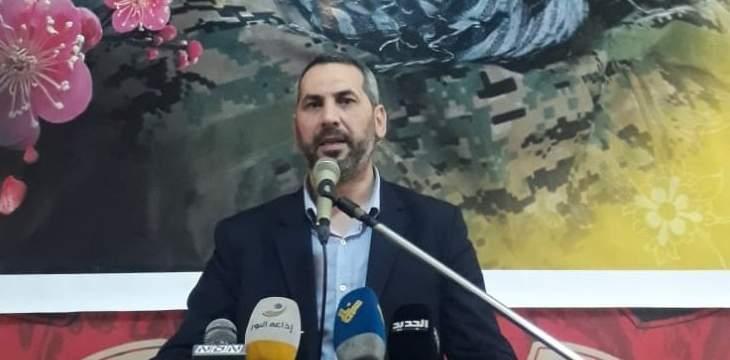 حمادة: أميركا لا تستطيع فرض شروطها علينا ولا أحد يستطيع أخذ لبنان لمكان اخر