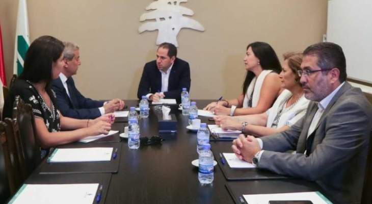 """الجميل استقبل وفدا من """"جمعية الصوت الثالث من أجل لبنان"""""""