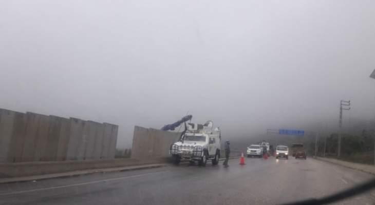 النشرة:جيش اسرائيل يستكمل بناء الجدار الفاصل بين الأراضي اللبنانية والفلسطينية