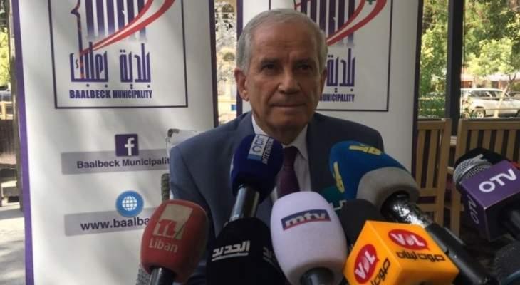 رئيس بلدية بعلبك: مسح اضرار السيول بحاجة الى وقت ومنطقتنا معرضة للفياضانات تاريخيا