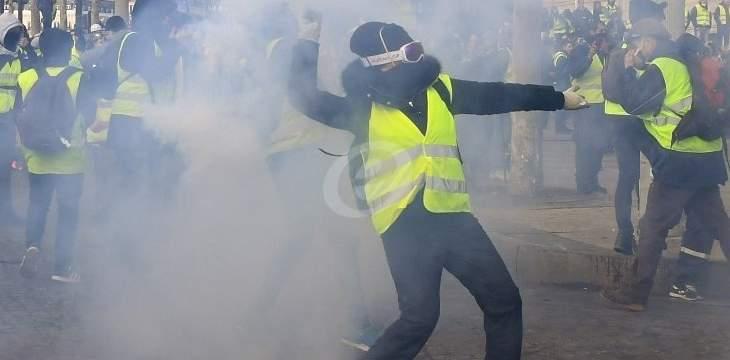 """منظمو احتجاجات """"السترات الصفراء"""" بفرنسا يتوعّدون بالتصعيد"""