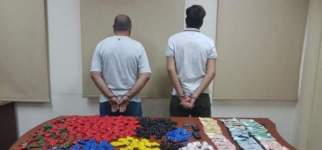 توقيف مروجي مخدرات ينشطان في محافظتي بيروت وجبل لبنان