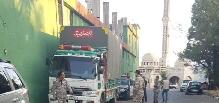 النشرة: عناصر من الجمارك دهموا سوق الخضار بقب الياس وصادروا بضائع سورية مهربة