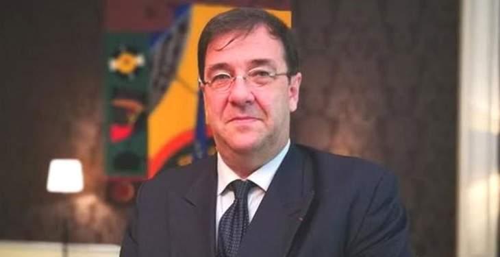 السفير الفرنسي: أعتقد أن تراث الإنسانية هو الذي احترق مساء أمس