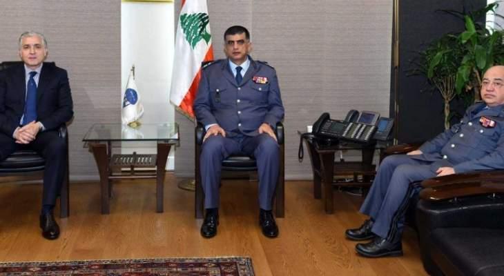 اللواء عثمان عرض مع رئيس بلدية بيروت أمورا تتعلّق بالمدينة