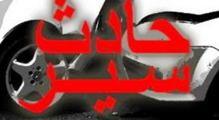 اصابة شاب سوري بحادث سير على اوتوستراد جبيل