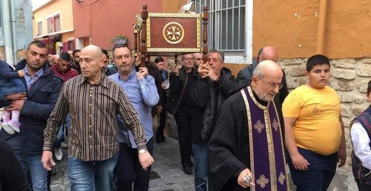 الطوائف المسيحية في صور أحيت الجمعة العظيمة