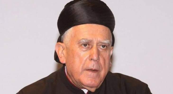 سيادة المطران رولان أبو جودة صديقي وداعاً