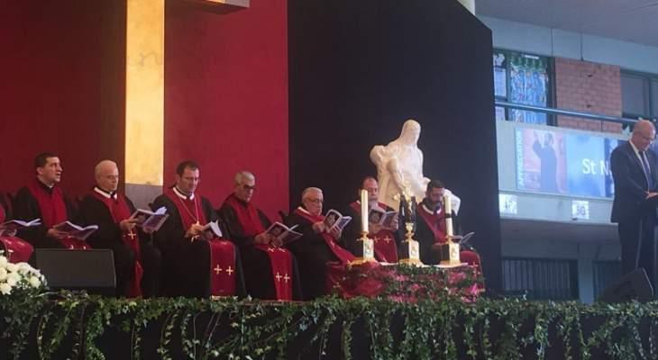 الأبرشية المارونية في استراليا أحيت رتبة سجدة الصليب بحضور موريسون ونواب