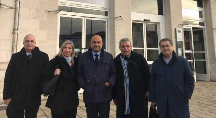 الوفد النيابي اللبناني يلتقي مسؤولين فرنسيين بمجالي البيئة والطاقة النظيفة