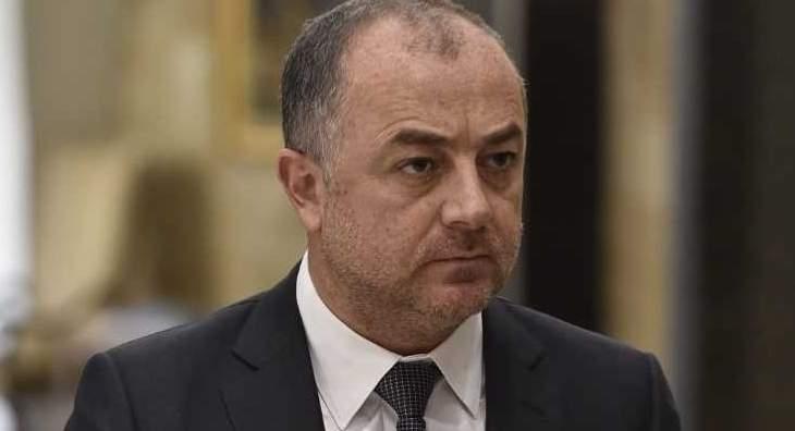 المكتب الاعلامي لبو صعب: كلام أبو سليمان يؤكد ما صدر عن لسان الوزير