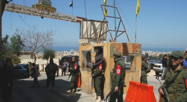 النشرة:أمين عام انصار الله يغادر المية ومية وفق اتفاق فلسطيني لبناني لانهاء التوتر