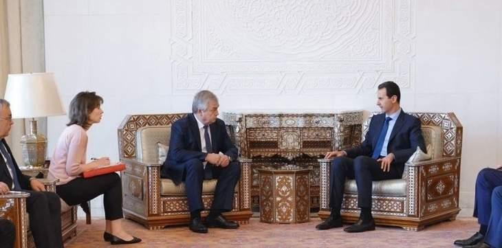 خارجية روسيا: المبعوث الروسي بحث مع الأسد تطبيع علاقات سوريا مع الدول العربية