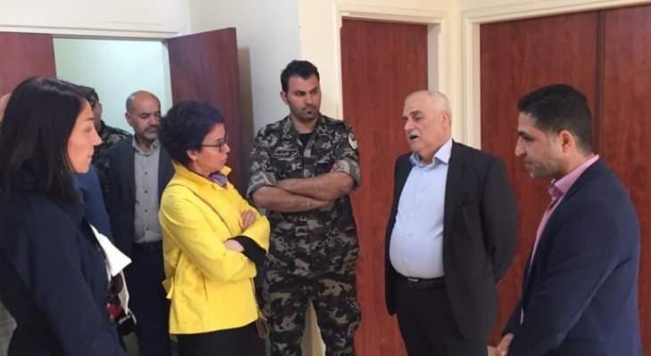 جبق وقع قرار إنشاء مستشفى حكومي في عرسال: وضع حجر الأساس بعد شهر رمضان