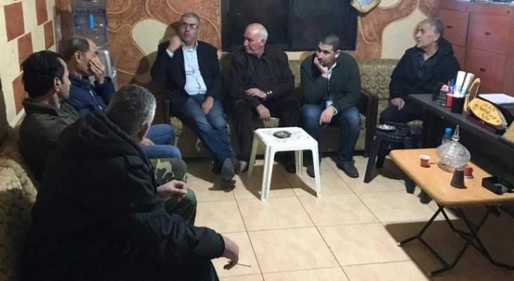 """النشرة: اجتماع بمقر """"فتح"""" في مخيم المية ومية للبحث بالاحداث الاخيرة بالمخيم"""