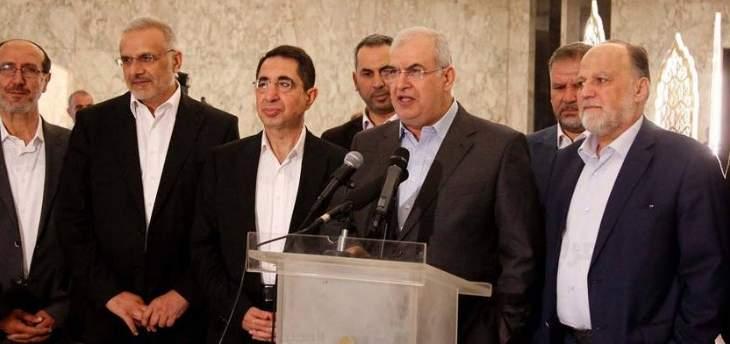 نصيحة من «حزب الله» لحلفائه