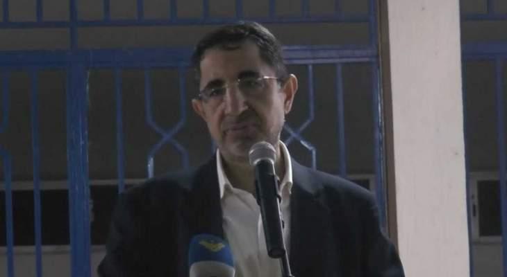 الحاج حسن: التحرير الثاني للاراضي يشكل نصرا على المشروع التكفيري