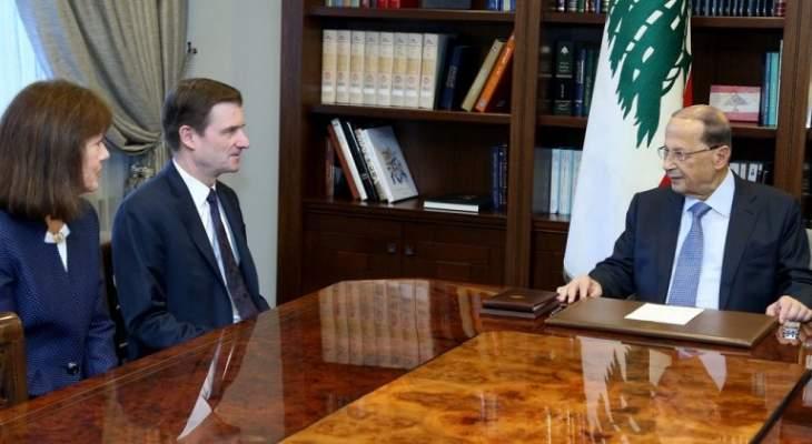 الاخبار: هيل طلب من لبنان ترسيم الحدود البرية حصرا بظل رفض بري وحزب الله