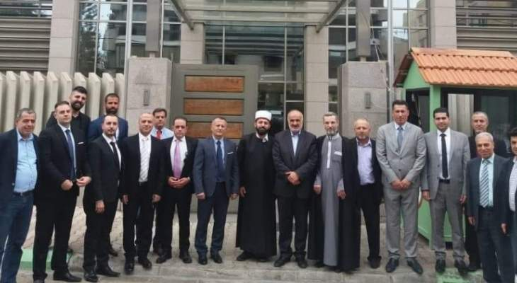 وفد من الطائفة العلوية التقى حايك للمطالبة بأحقية التوزير العلوي في الحكومة