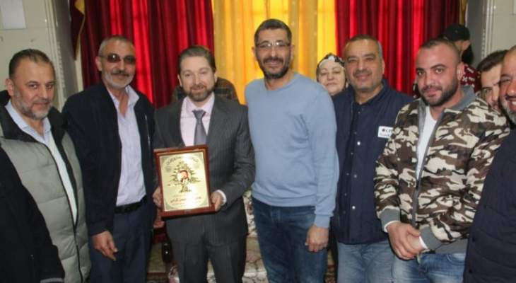 كرامي التقى المجلس الجديد لنقابة عمال النجارة في الشمال