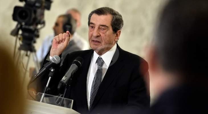 الفرزلي: الازمة الحكومية لن تبقى في كنف رئيس الجمهورية وستعود الى المجلس النيابي
