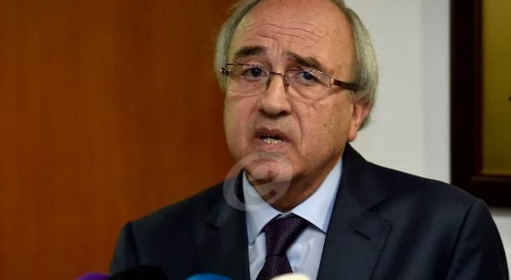 سرحان: قررت وقف قاض و7 مساعدين قضائيين عن العمل وإحالتهم على المجلس التأديبي