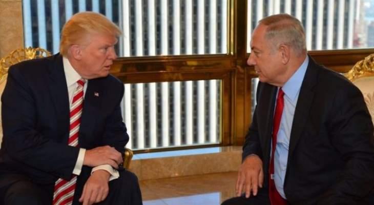 قناة اسرائيلية: ترامب طلب من نتانياهو الحد من الاستثمارات الصينية باسرائيل