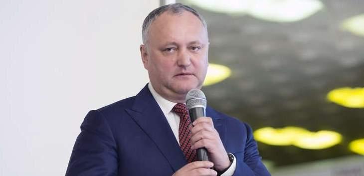 """رئيس مولدوفا:مكتب """"الناتو"""" في كيشيناو قد يغلق بعد الإنتخابات البرلمانية"""