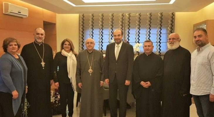 درويش زار المعلوف وعقيص مهنئاً بفوزهما في الانتخابات