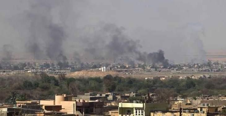 """""""داعش"""" يتبنى المسؤولية عن تفجير سيارة مفخخة في تلعفر"""